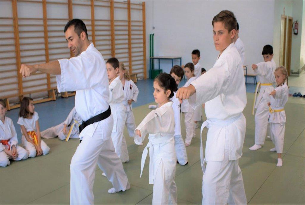 metodologia de una clase de karate en dojo kaisho apartado específico